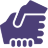 Doulas have Helping hands icon from Icons8