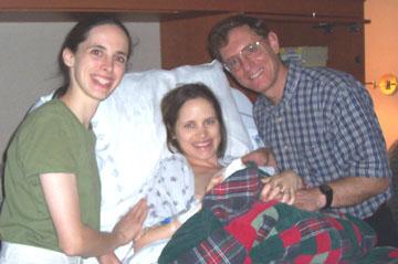 Melinda-after-Atlanta-labor-doula-client's birth